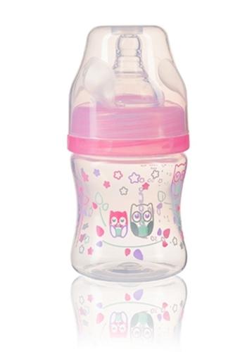 Babyono Cumisüveg szélesnyakú anticolic 120ml Rózsaszín #402-406205