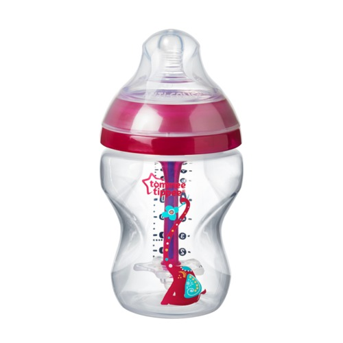 Tommee Tippee Advanced Anti-Colic cumisüveg #260ml #rózsaszín #42257675