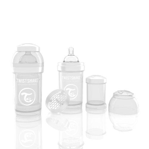 Twistshake Cumisüveg anti-colic 180ml Fehér #78006
