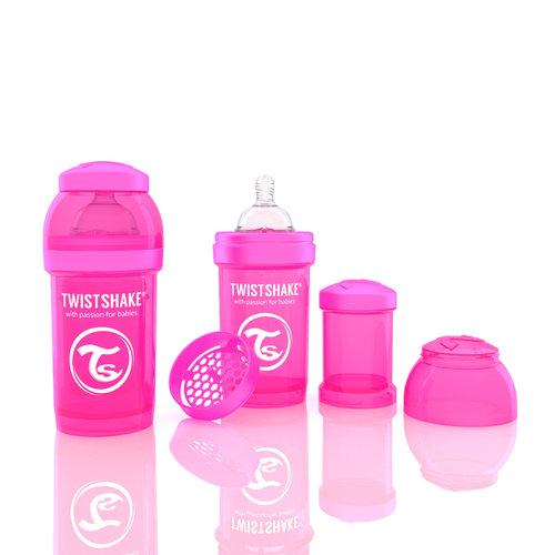 Twistshake Cumisüveg anti-colic 180ml Pink #78001