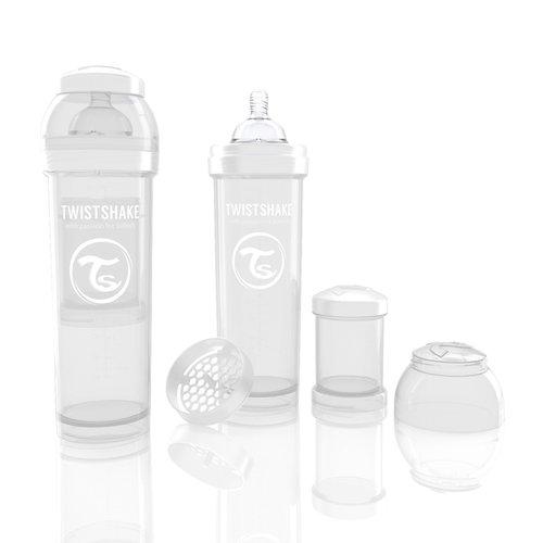 Twistshake Cumisüveg anti-colic 330ml Fehér #78018