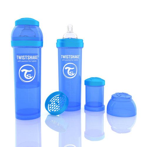 Twistshake Cumisüveg anti-colic 330ml Kék #78014