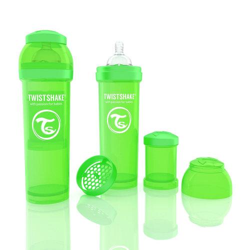 Twistshake Cumisüveg anti-colic 330ml Zöld #78016
