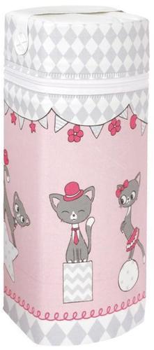 Ceba Cumisüveg melegentartó Jumbo #Macskák pink