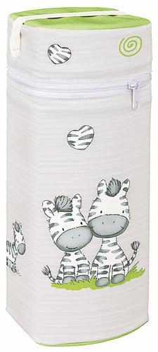 Ceba Cumisüveg melegentartó #Jumbo #Zebra szürke