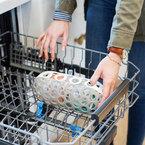 Boon Clutch mosogatógép kosár #szürke-fehér #B11356
