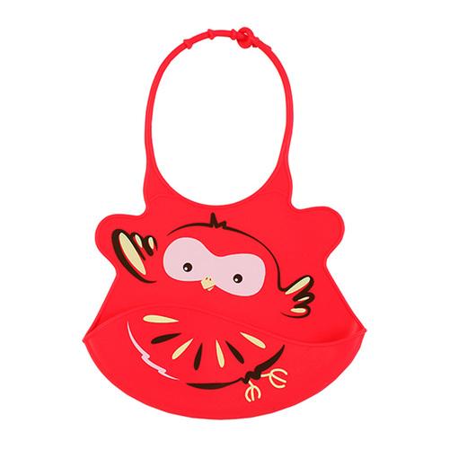 Babyono Előke műanyag szuper puha állítható piros-madár #834-407516