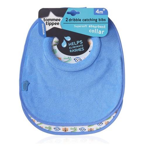 Tommee Tippee Explora előke textil #kék #46354440-635440