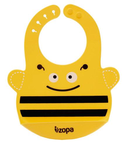 Zopa szilikon előke #Méhecske #BFS01