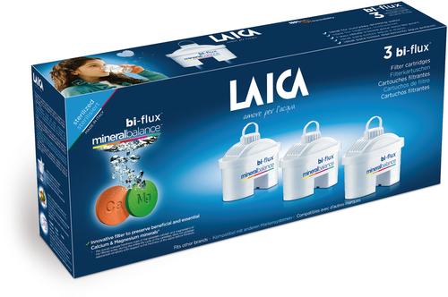 Laica Bi-Flux Mineral Balance vízszűrőbetét #3db #M3M