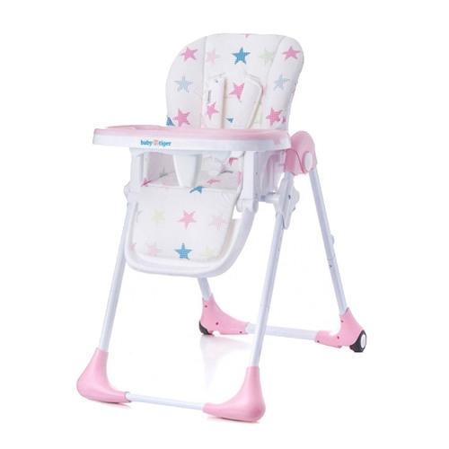 Baby Tiger KIKI etetőszék pink