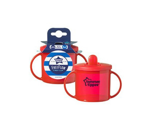 Tommee Tippee Essential First Cup pohár 4 piros #43111010-311108