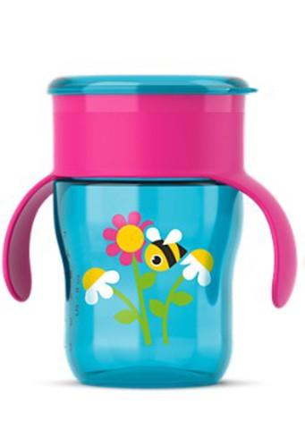 Philips Avent Első ivópohár #260ml pink #586029