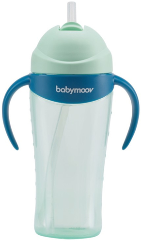 Babymoov Itatópohár szívószállal 300ml #kék #A005004