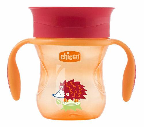 Chicco Itatópohár 360 Perfect #12h #narancs-süni #CH00695130005-081394