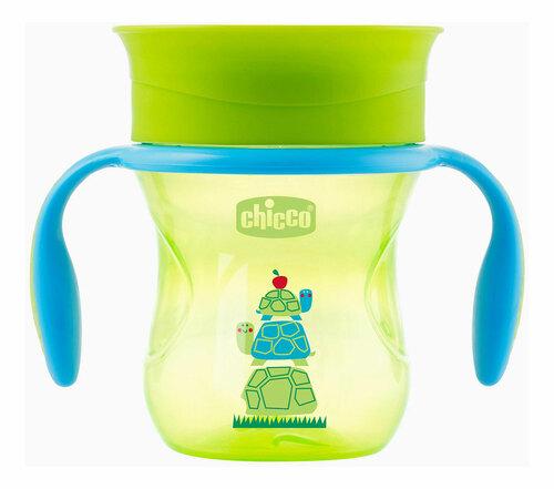 Chicco Itatópohár 360 Perfect #12h #zöld-teknős #CH00695130005-081394