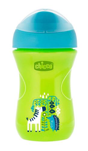 Chicco Itatópohár Easy #12m #zöld állatos #CH00696120-081257