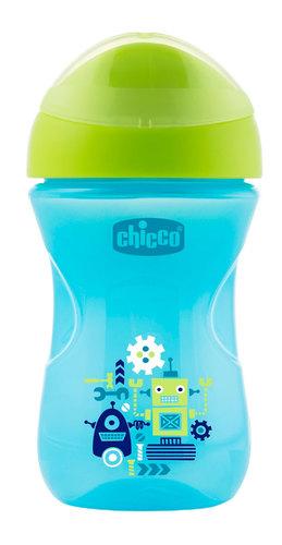 Chicco Itatópohár Easy #12m #kék robotok #CH00696120-081257