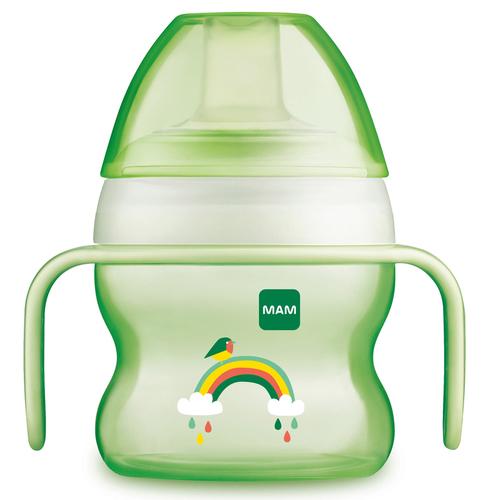 Mam Starter Cup ivópohár 150 ml #670114 #2020 #Zöld szivárvány
