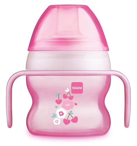 Mam Starter Cup ivópohár 150 ml #670114 #2020 #Pink virág