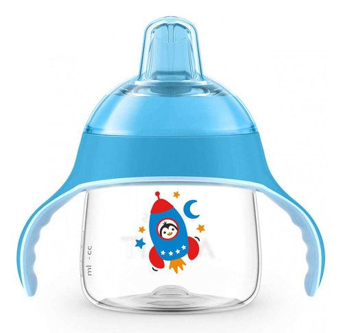 Philips Avent Itatópohár prémium #200ml #6h #kék