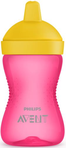 Philips Avent kemény itatófejes itatópohár #300ml #rózsaszín