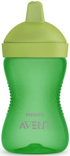 Philips Avent kemény itatófejes itatópohár #300ml #zöld