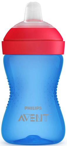 Philips Avent puha harapásálló csőrös itatópohár #300ml #kék