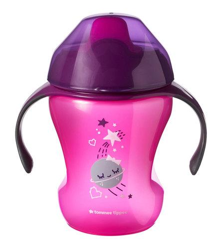 Tommee Tippee Easy drink Itatópohár 6hó #pink csillagok #44711087-471109 2020