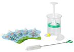 Fill and Squeeze otthoni babaétel készítő 5 db steril zacskóval új