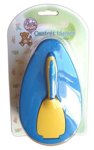 Babybruin Fedeles tányér kanál #kék #55042871-126787