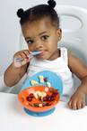 Boon Catch Mély tányér narancs-kék 100123