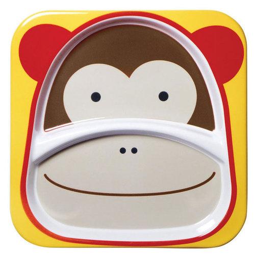 Skip Hop Zoo Tányér nagy #majom #252153