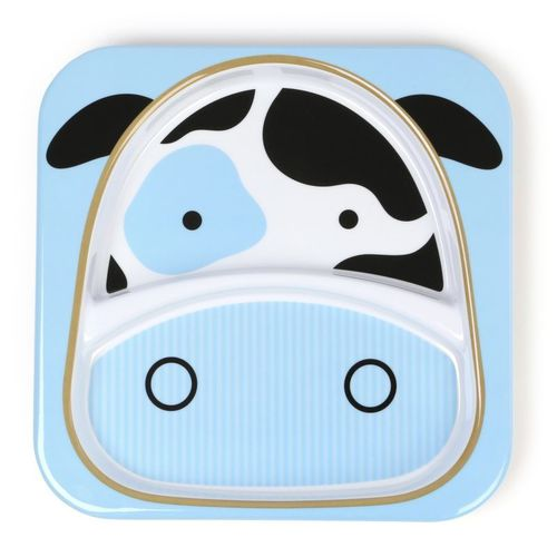 Skip Hop Zoo Tányér nagy #tehén #252170