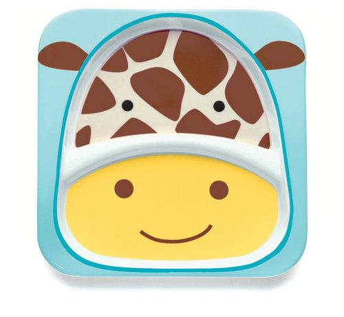 Skip Hop Zoo Tányér nagy #zsiráf #252163