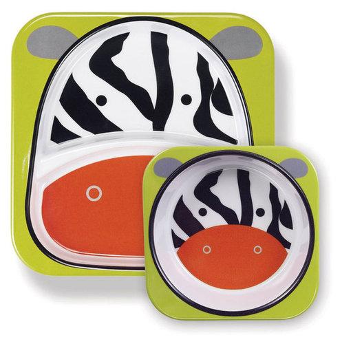 Skip Hop Zoo Tányér szett #zebra #252205