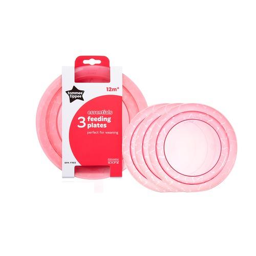 Tommee Tippee Essential Basics tányér rózsaszín #43031610-303165