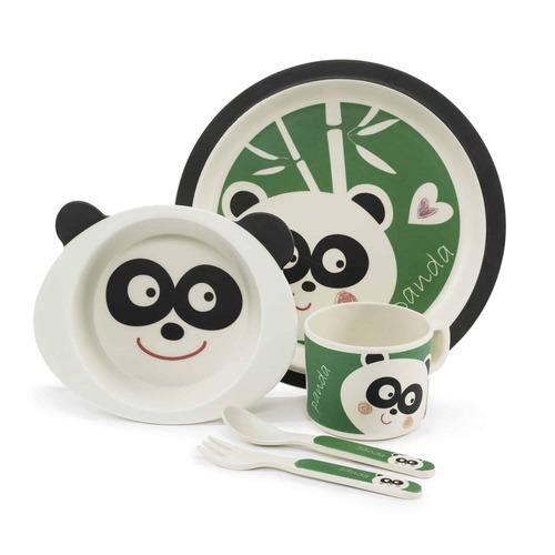 Zopa Étkészlet bambusz #Panda