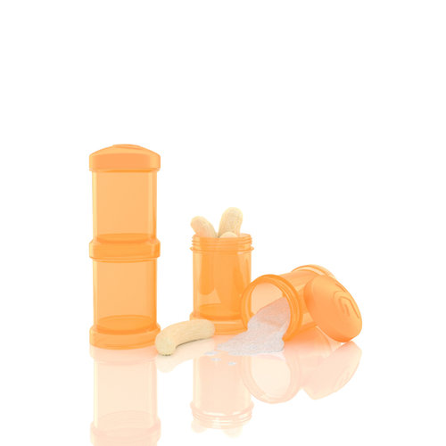 Twistshake Tápszertartó 2x100 ml #Narancs #78025
