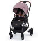 Kinderkraft Evolution Cocoon 2in1 babakocsi puha mózessel #Mauvelous Pink