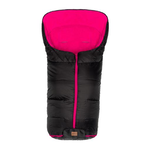 Fillikid Eco big bundazsák babakocsiba #1220-22 fekete pink belsővel