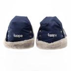 Zopa Fluffy vízálló kesztyű babakocsira #kék