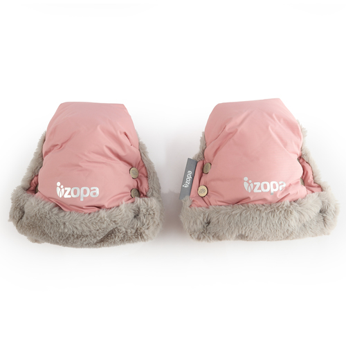 Zopa Fluffy vízálló kesztyű babakocsira #rózsaszín