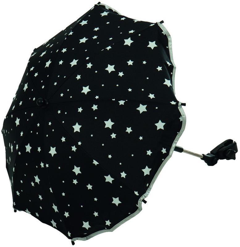 Fillikid Napernyő csillagos  fekete  671185-06 - Napernyő ... e7ee96a172