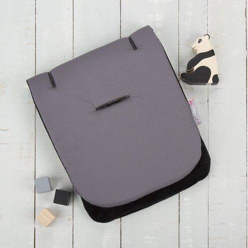 CuddleCo Comfi-cush ülésbetét #Dove szürke-fekete