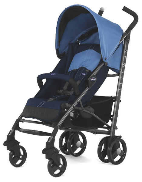 CHICCO LiteWay2 Complete babakocsi karfával Blue #CH0607954680