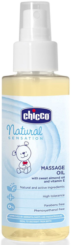 Chicco Natural Sensation Masszázs babaolaj spray 100ml #CH0074541