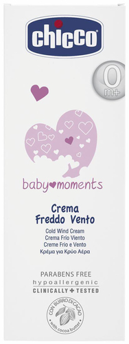 Chicco Baby Moments védőkrém szél ellen - kakaóvajjal #50ml #CH0028472