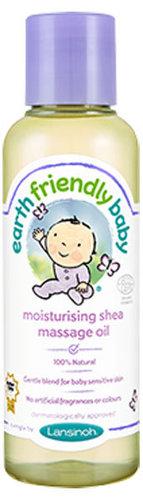 Lansinoh Earth Friendly Baby hidratáló masszázsolaj shea vajjal 125ml