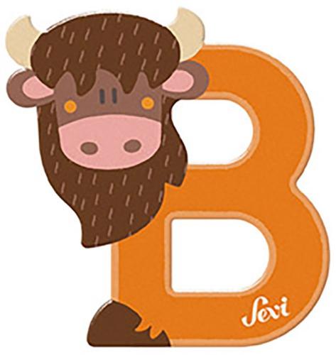 Sevi Fa betűk #állatos B narancs